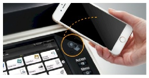 Various easy-to-use mobile functions NFC : Near Field Communication